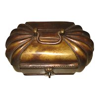 Chinese  Bronze Melon Shape-Box