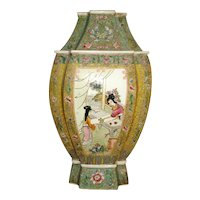 Large Chinese Porcelain Famille Rose Vase