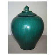 Chinese Green-Glazed Pottery Jar