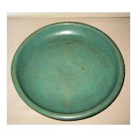 Ming Dynasty Celadon-Glazed Ceramic Low Bowl