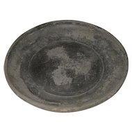 Antique Chinese Black Pottery Bowl
