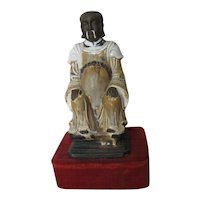 Chinese Ming Dynasty Glazed Ceramic Figure