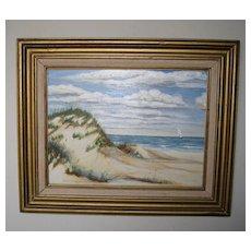 Seascape of Jacksonville Oil Painting