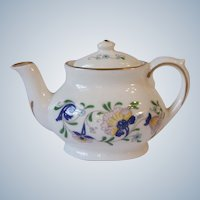 Coalport England Pageant Bone China Toy Miniature Teapot