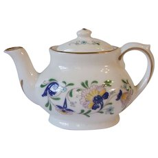 Coalport England Pageant Bone China Toy Miniature Teapot