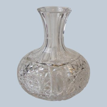 ABP Cut Glass Water Carafe