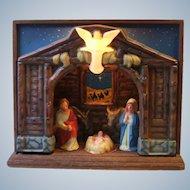 Royal Electric Company Musical Illuminated Nativity Scene