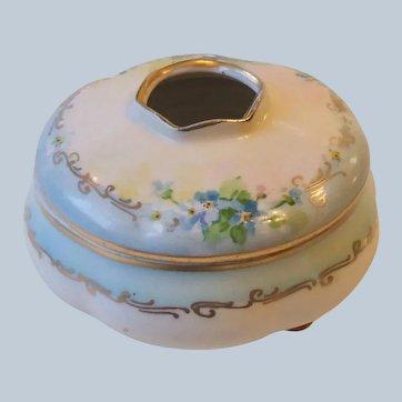 MZ Austria Altrohlau Porcelain Vanity Hair Receiver Jul. Brauer HP