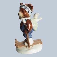 Royal Copenhagen Bing and Grondahl 2000 Freddie Ski Trip Figurine