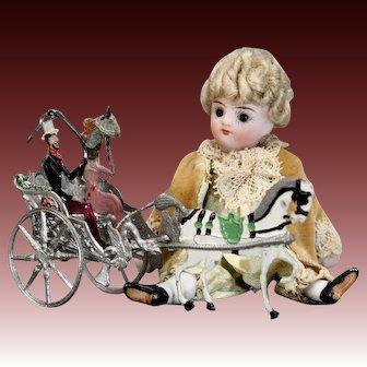 Miniature Horse-drawn Buggy by Babette Schweizer