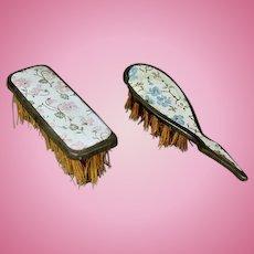 Antique Fashion Doll Brushes