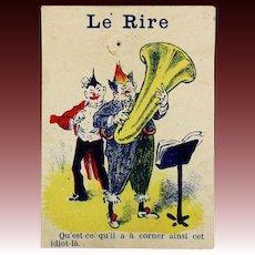Humoristic French Newspaper for Your Fashion Doll - LE RIRE - Circa 1905