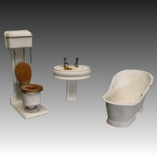 Bathroom Set : Bath - Washbasin - Toilet