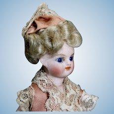 Antique All-Bisque Mignonette - Goldilocks