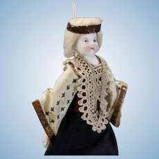 Antique Theater Doll - The Queen