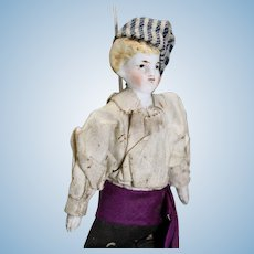 Antique Theater Doll - The Messenger
