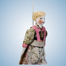 Antique Theater Doll - The Personal Maid of the Queen