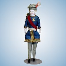 Antique Theater Doll - The Prince