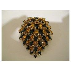 Vintage Signed KRAMER Of New York Fur Clip Pin