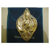 1989 Wallace Grand Baroque Sterling Christmas Ornament