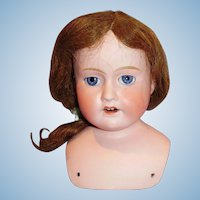 Antique Morimura Brothers Japan Size 5 Bisque Doll Head