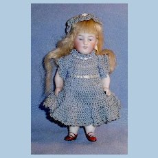 Antique German 150 All Bisque Doll