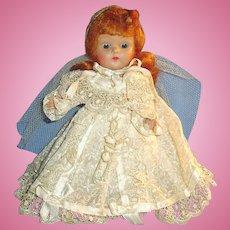 Vintage Red Hair Vogue Strung Ginny Bride Doll