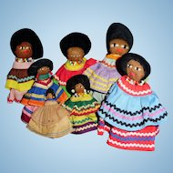 Vintage Florida Seminole Native American Indian Dolls