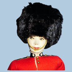 Vintage Original Ilse Ottenberg English Guard Doll With Tag