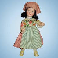 Vintage Composition Madame Alexander Wendy Ann Peasant Doll