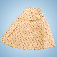 1800s Hand Stitched Small Calico Doll Skirt