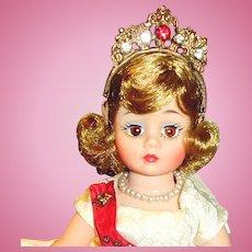 Vintage Cissette Madame Alexander Portrette Queen Doll 1186 MIB