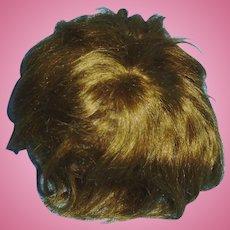 Antique German Human Hair Toddler Doll Wig