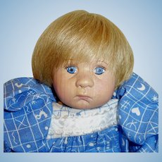 Vintage Callie Wood And Cloth Janci Doll