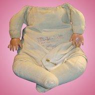 Antique German Stamped Putnam Bye Lo Baby Doll Body