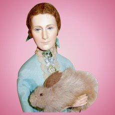 NIADA Artist Ann Parker Beatrix Potter English Costume Doll