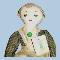 Cloth Handmade Embroidered Face League Of NH Arts And Crafts Doll