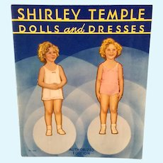 1930-40 Shirley Temple Paper Doll Book