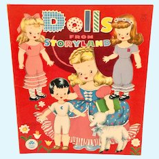 Dolls From Storyland Paperdolls Book