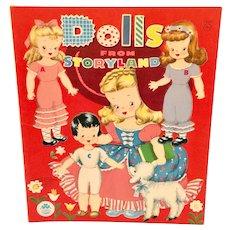 Dolls From Storyland Paperdolls Book