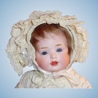Antique Bahr and Proschild 585 Character Bisque Head Baby Doll