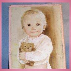 Original Painting by Doll Artist Dianne Dengel