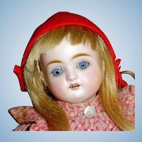 Antique German 1890 Bisque Head J D Kestner Doll