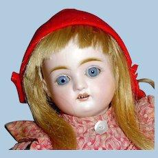 Antique German 1890 Bisque Head J D Kestner Doll