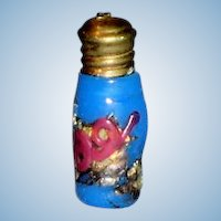 Tiny Fashionable Doll Size Glass Scent Perfume Bottle