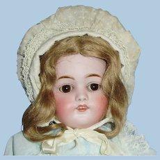 21 in Antique JD Kestner 168 Bisque Head Doll