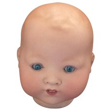 Antique German Bisque AM 351 Baby Doll Head