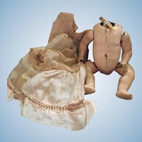 1910 German Composition Five Piece Baby Body