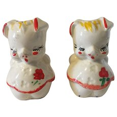Vintage Shawnee Pig Salt and Pepper Shakers
