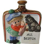 German Schafer and Vater All Scotch Liquor Flask